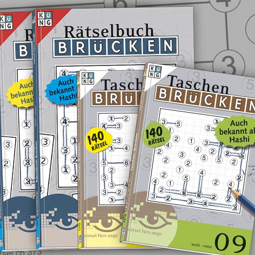 Brücken Hashi Rätsel Bücher